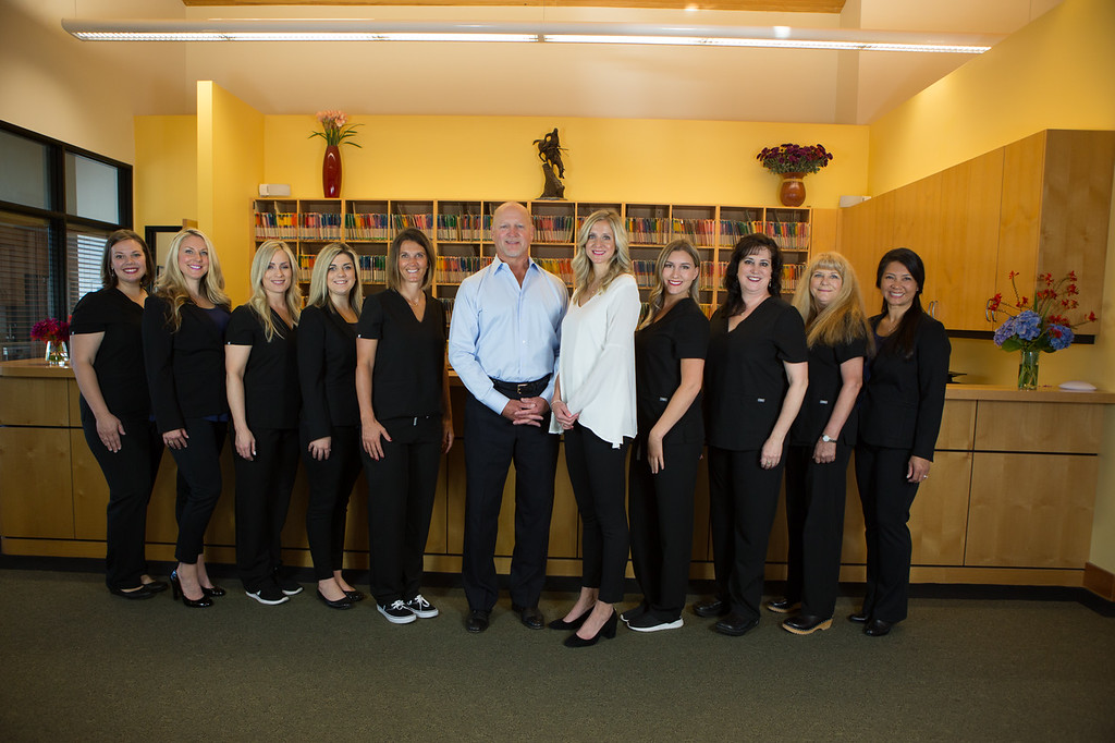 the smiling staff at Sunnyside Dentistry